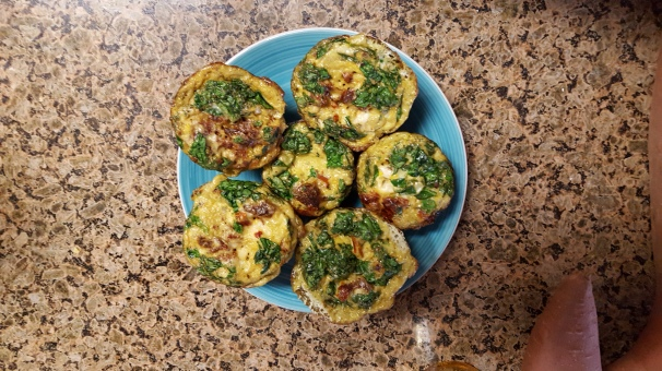 For the quick grab: Meal prep egg muffins!